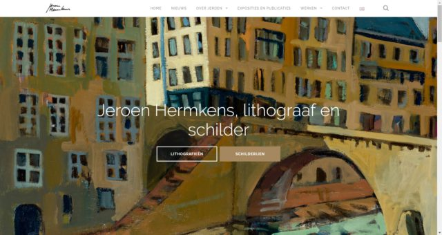 A Website for Jeroen Hermkens
