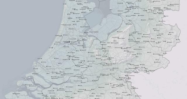 [Dutch] Nederlandse Atlas der Rare Plaatsen